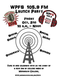 WPFS Launch Party This Friday 10/2